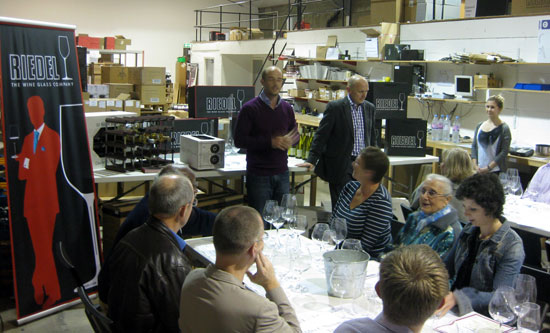 Riedel Tasting Evening at Art of Living in 2011