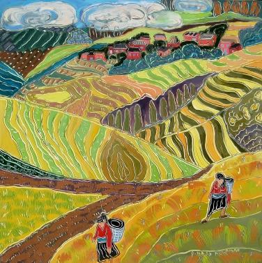 Nan Feldman Painting