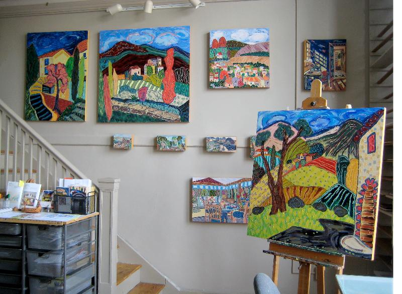 Nan's studio