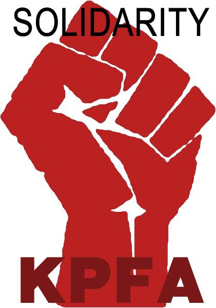 solidarity fist kpfa