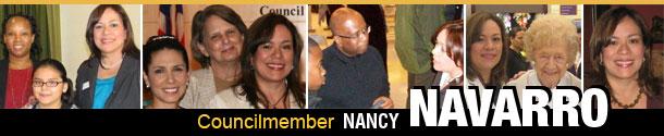 Councilmember Navarro