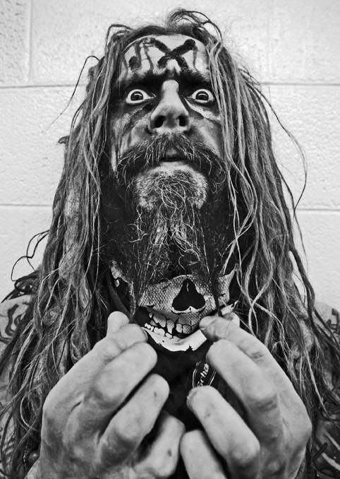 Rob Zombie Head Shot