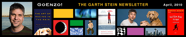 Garth Stein Newsletter