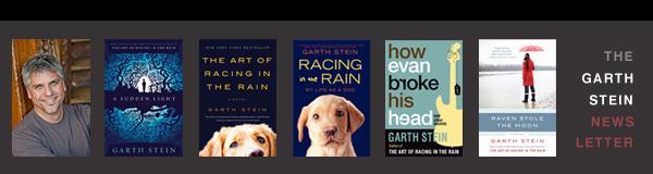 The Garth Stein Newsletter