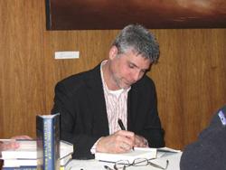 Garth signing at PNBA