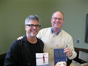 Garth with David Hartz of the Book'n'Brush