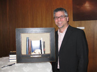 Garth receiving his PNBA award