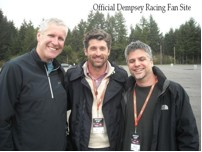 Mike Rich, Patrick Dempsey and Garth