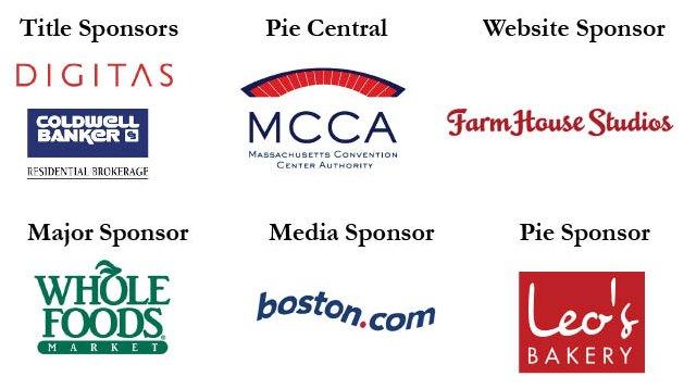 All Sponsor Logos pie