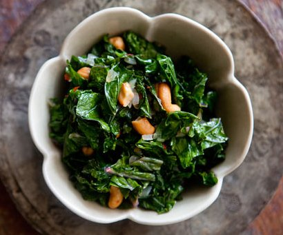 Kale and Cashews
