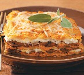 Pumpkin Lasagne