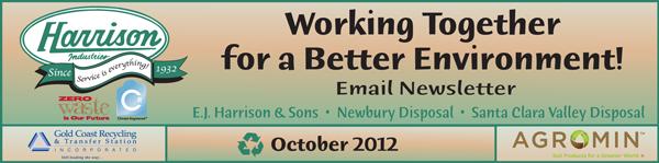 Harrison email masthead October                                     2012