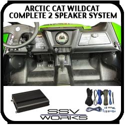 WildCat Complete 2 Speaker System