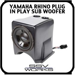 Yamaha Rhino Plug in Play Sub Woofer