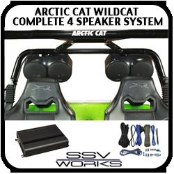 Wildcat 4 Speaker Complete