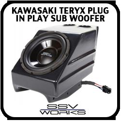 Kawasaki Teryx Plug and Play Sub Woofer