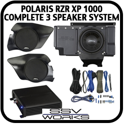 Polaris 3 Speaker Complete