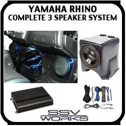 Yamaha Rhino Complete 3 Speaker System