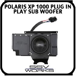 Polaris XP1000 Plug in Play Sub woofer