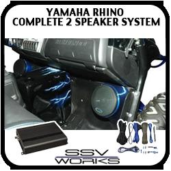 Yamaha Rhino Complete 2 Speaker System