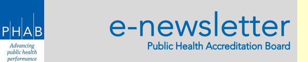 PHAB E-Newsletter Header