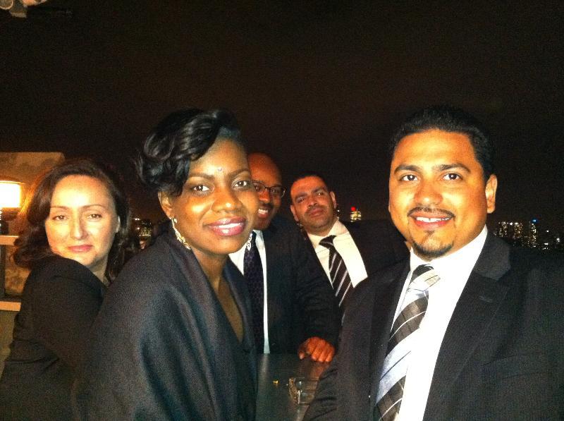 at the gala