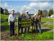 Paloma Community Garden Volunteers