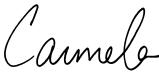 Carmela signature