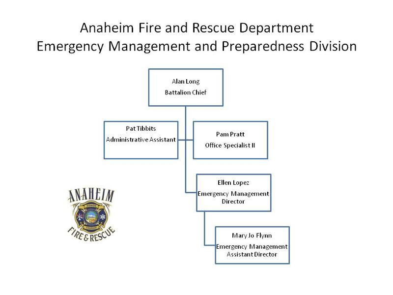 Anaheim Fire & Rescue Department Volunteer Update