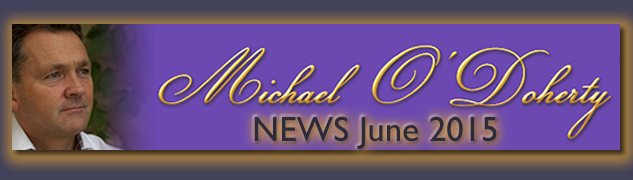 Michael O'Doherty NEWS June 2015