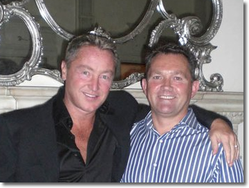 Michael with Michael Flatley