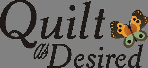 Quilt as Desired Logo