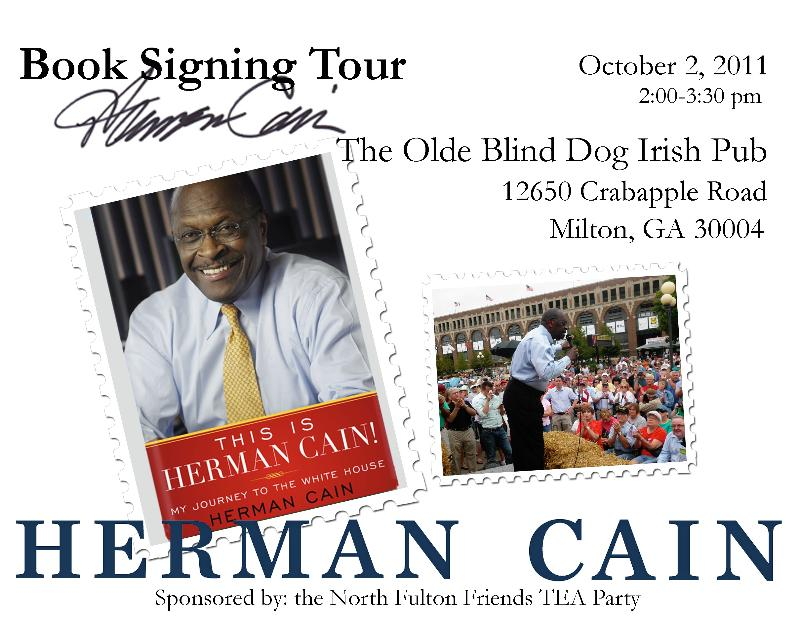 Blind dog book signing