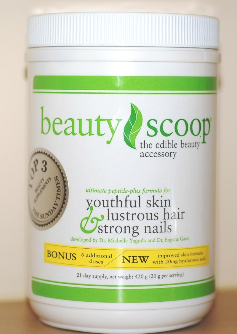 New BeautyScoop canister