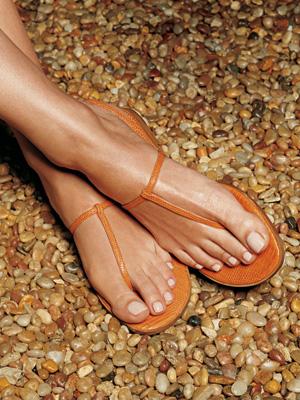 Pedicure in Sandals