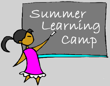 Summer learning camp grey
