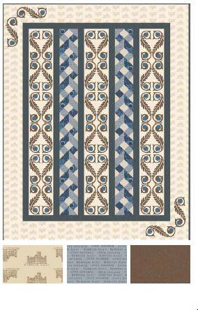 Free Downton Abbey Pattern - Trellis