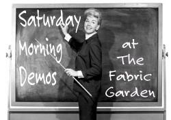 Saturday Demos