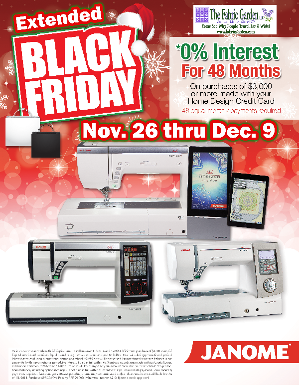 48 Month 0% financing thru Dec 9