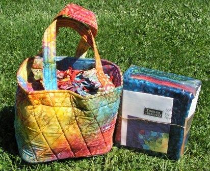 Kit-Solar Flare with Batik Bag