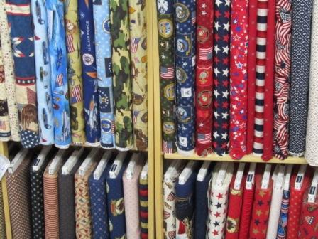 Patriotic & Military Fabric
