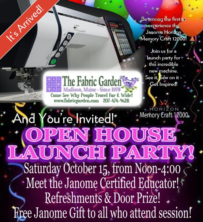 Open House Launch Party