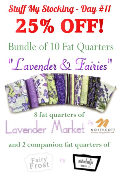 25% off Lavender Market