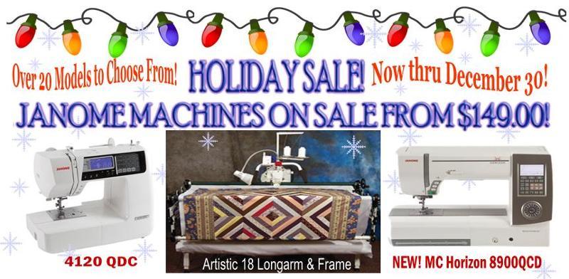 Holiday Machine Sale