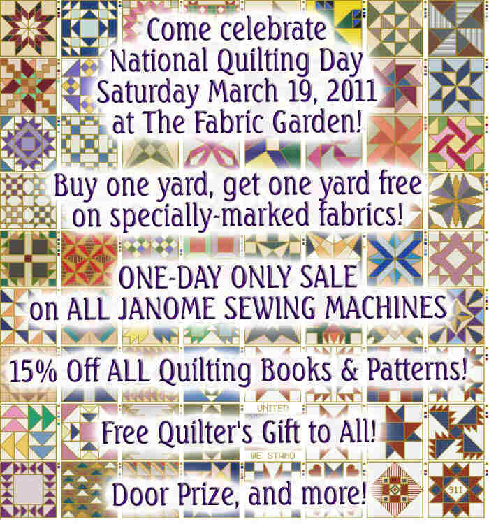National Quilting Day 2011