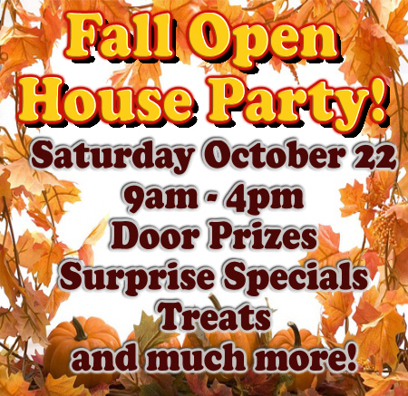 Fall Open House Party