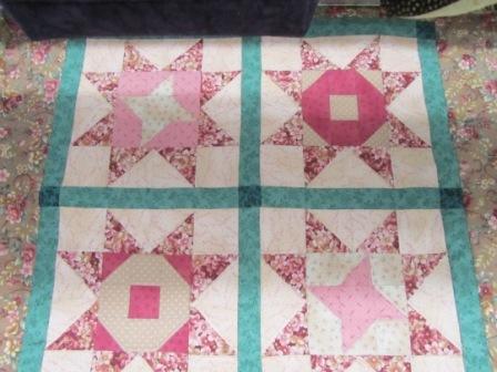 Buck A Block Victorian Quilt