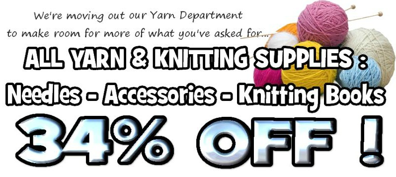 Yarn Clearance