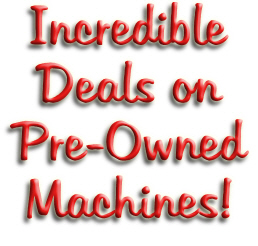 Pre-Owned Deals Machines