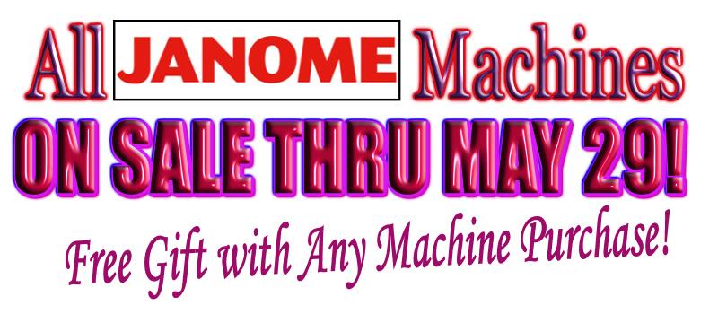 Anniversary Machine Sale